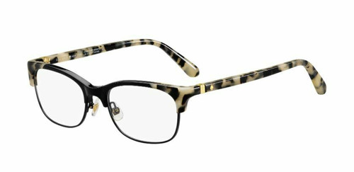 Authentic Kate Spade Adali 0807 Black Eyeglasses