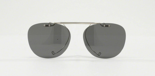 Authentic Oliver Peoples Clip On 5036 Silver Polarized For OV 5036 C Sheldrake