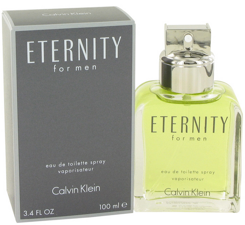 Authentic ETERNITY by CALVIN KLEIN for men EDT 3.3 / 3.4 oz New in box