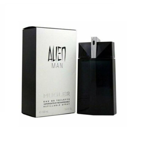 Alien Man Cologne by Thierry Mugler for Men EDT 3.4 oz Refillable New In Box