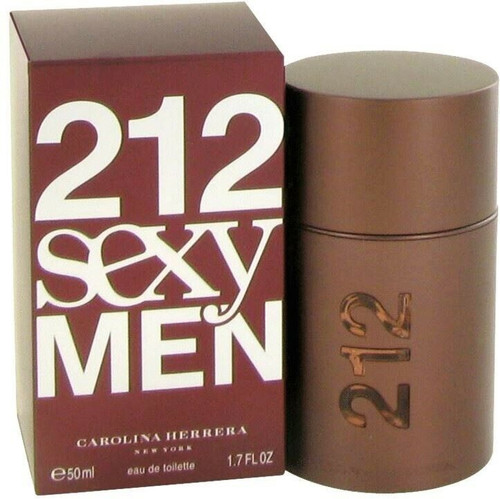 Authentic 212 Sexy Cologne by Carolina Herrera for Men EDT 1.7 oz New In Box
