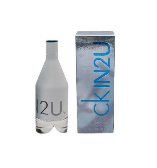 Authentic CK In 2u Cologne by Calvin Klein for Men EDT 3.4 oz New In Box