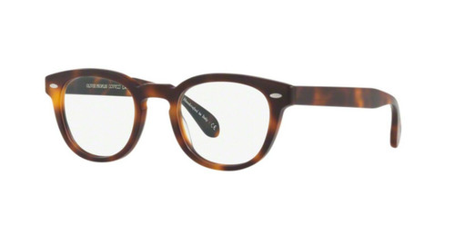 New Oliver Peoples OV 5036 Sheldrake 1552 SEMI MATTE DARK MAHOGANY Eyeglasses
