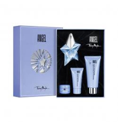 Authentic ANGEL 4 Pcs Set For Women: 0.8 SP Oz Refillable New In Box