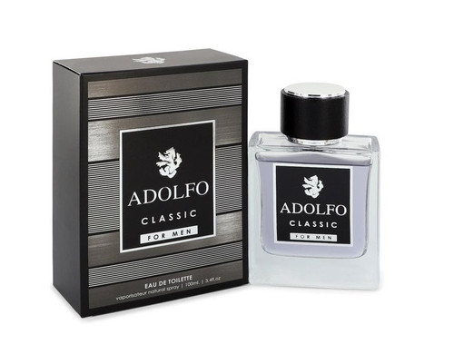 Adolfo Classic Cologne by Francis Denney for Men EDT 3.4 oz New In Box