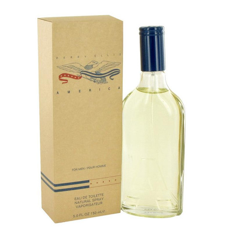 Authentic America Cologne by Perry Ellis for Men EDT 5 oz New In Box