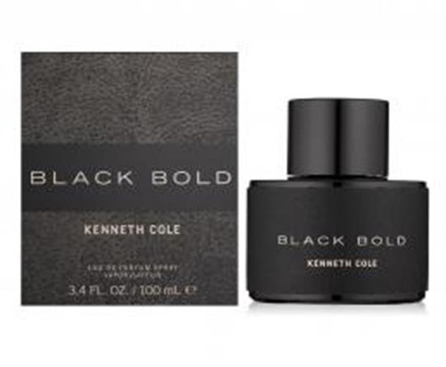 Authentic KENNETH COLE BLACK BOLD 3.4 Oz EDP SP For Men New In Box