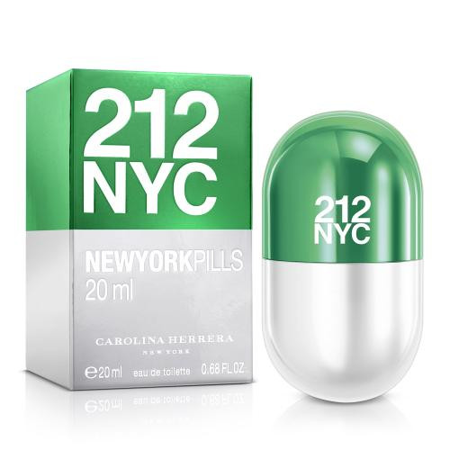 Authentic 212 0.68 OZ EDT SP For Women New In Box
