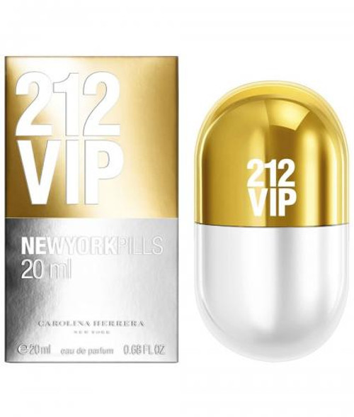 Authentic 212 VIP 0.68 OZ EDP SP For Women New In Box