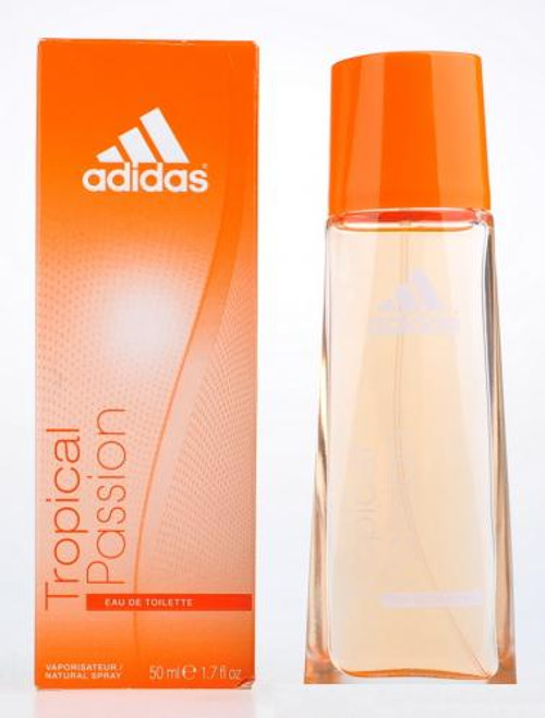 Authentic ADIDAS TROPICAL PASSION 1.7 Oz EDT SP New In Box