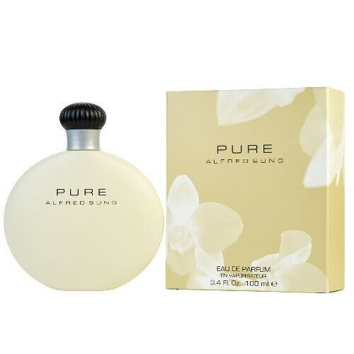 Authentic ALFRED SUNG PURE 3.4 Oz EDP SP New In Box