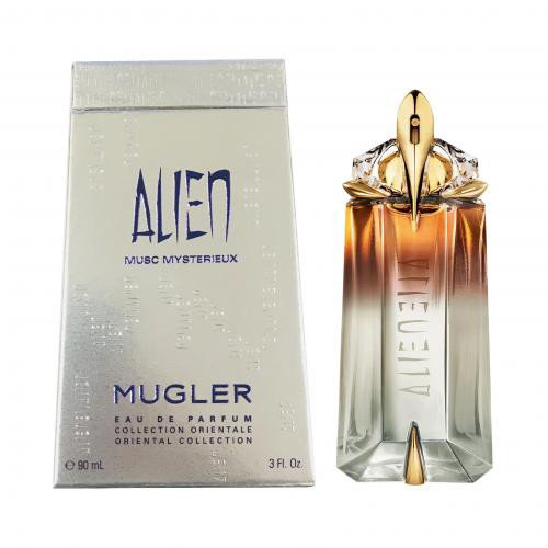 Authentic ALIEN MUSC MYSTERIEUX 3 OZ EDP SP (Oriental Collection) New In Box