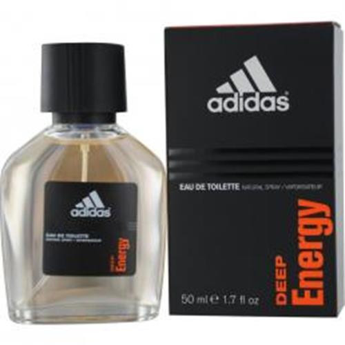 Authentic ADIDAS DEEP ENERGY 1.7 Oz EDT SP For Men New In Box