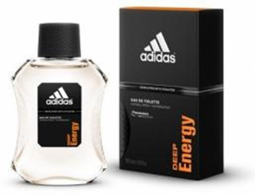 Authentic ADIDAS DEEP ENERGY 3.4 Oz EDT SP For Men New In Box