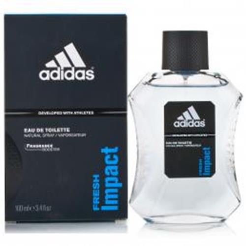 Authentic ADIDAS FRESH IMPACT 3.4 Oz EDT SP For Men New In Box