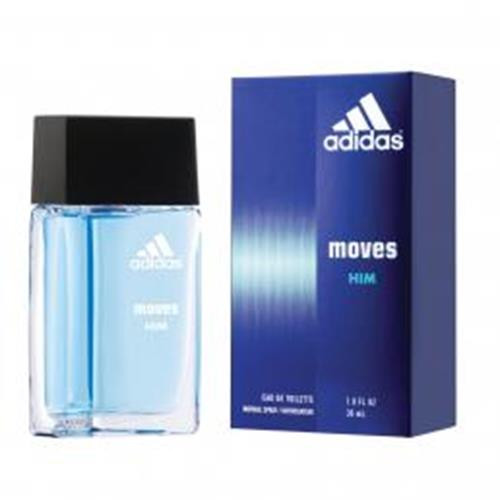 Authentic ADIDAS MOVES 1 Oz EDT SP For Men New In Box