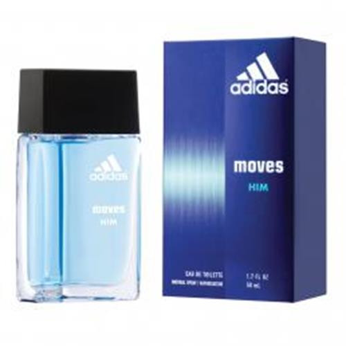 Authentic ADIDAS MOVES 1.7 Oz EDT SP For Men New In Box