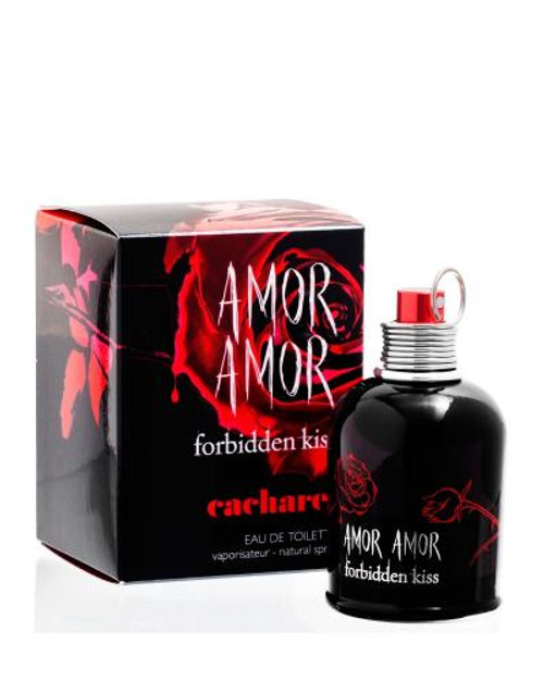 Authentic AMOR AMOR FORBIDDEN KISS 1.7 Oz EDT SP New In Box