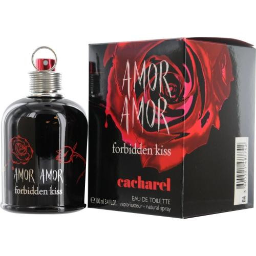 Authentic AMOR AMOR FORBIDDEN KISS 3.4 Oz EDT SP New In Box