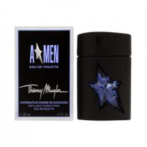 Authentic ANGEL 1.7 Oz EDT REFILLABLE RUBBER SP Men New In Box