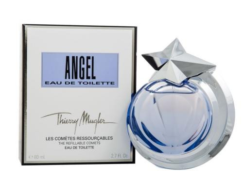 Authentic ANGEL REFILLABLE 2.7 Oz EDT SP For Women New In Box
