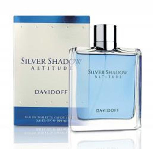 Authentic DAVIDOFF SILVER SHADOW ALTITUDE 3.4 Oz EDT SP New In Box