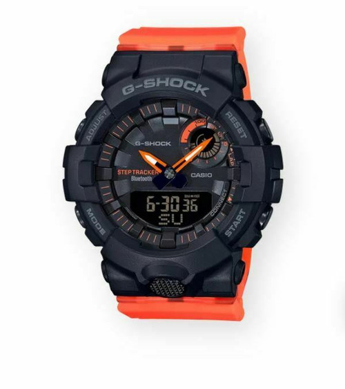 Authentic Casio G-Shock Ana-Digi Bluetooth Step Tracker Watch GMAB800SC-1A4