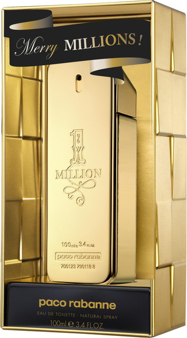Authentic PACO ONE MILLION 3.4 Oz EDT SP For Men LIMITED EDITION New In Box