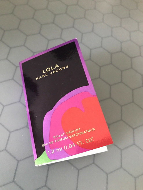Authentic MARC JACOBS LOLA 0.04 OZ EDP Vial New In Box