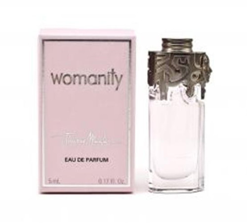 Authentic WOMANITY By Thierry Mugler 5 ML EDP Mini For Women New In Box