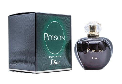 POISON By CHRISTIAN DIOR For Women 3.4 Oz EDT SP New In Box