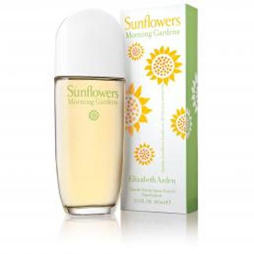 Authentic SUNFLOWERS MORNING GARDENS By Elizabeth Arden 3.3 Oz EDT SP New In Box