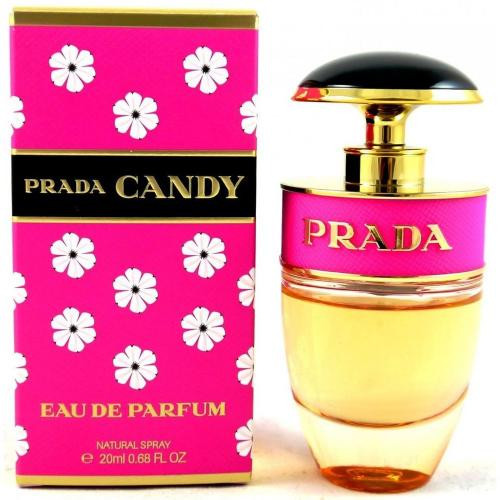Authentic PRADA CANDY 0.68 Oz EDP SP For Women New In Box