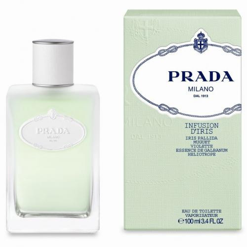 Authentic PRADA INFUSION D'IRIS 3.4 Oz EDT SP New In Box