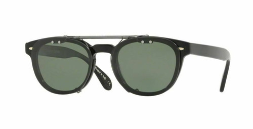 Authentic Oliver Peoples Clip On 5071 Metal Polarized For OV 5036 C Sheldrake