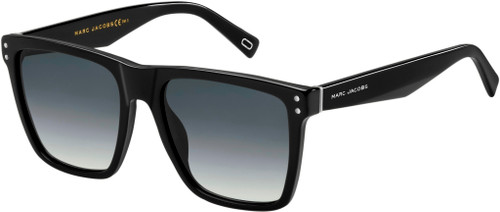 Authentic Marc Jacobs Marc 119/S 0807/9O Black/Dark Gray Gradient Sunglasses