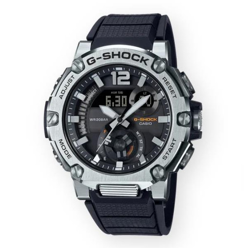 Authentic Casio G-Shock Master of G-Steel Black Carbon Core Watch GSTB300S-1A