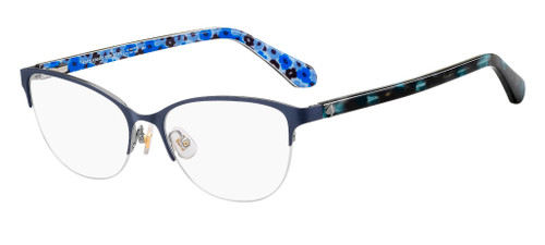Authentic Kate Spade Adalina 0F2G Blue Silver Eyeglasses