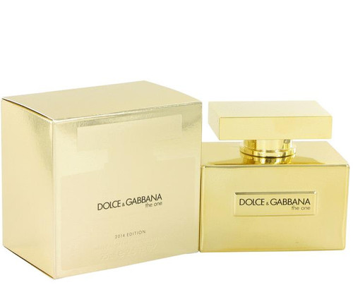 Authentic DOLCE & GABBANA THE ONE 2014 EDITION For Women 2.5Oz EDP SP New In Box