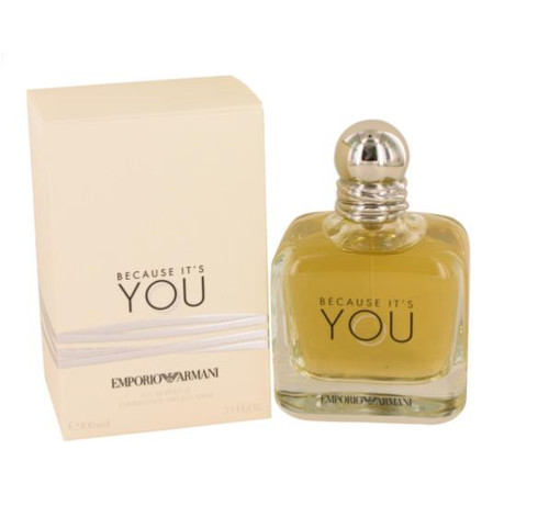 Authentic EMPORIO ARMANI BECAUSE IT'S YOU 3.4 Oz EDP SP For Women