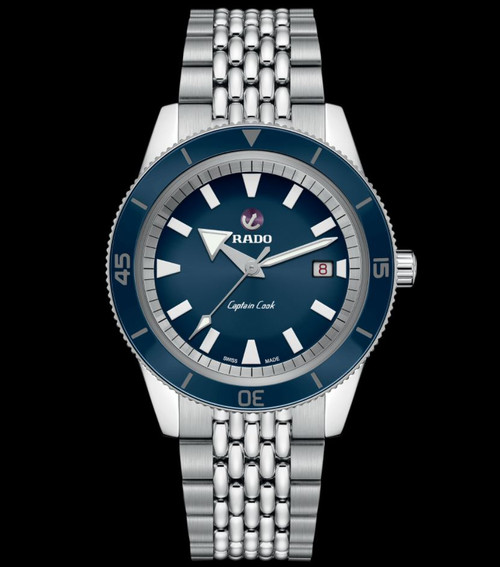 Rado Captain Cook Automatic Stainless Steel Men's Watch R32505203