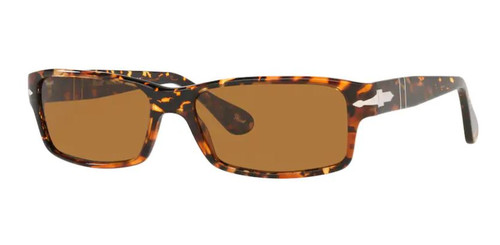 Authentic Persol 0PO 2747S 108133 Brown Tortoise/Brown Rectangle Men Sunglasses