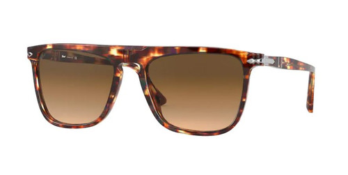 Authentic Persol 0PO 3225S 112351 Striped Honey/Brown Unisex Sunglasses