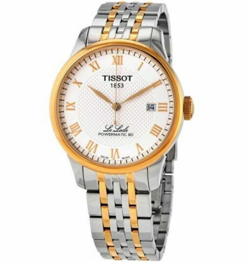 Authentic Tissot Le Locle Powermatic80 Stainless Steel Men Watch T0064072203301