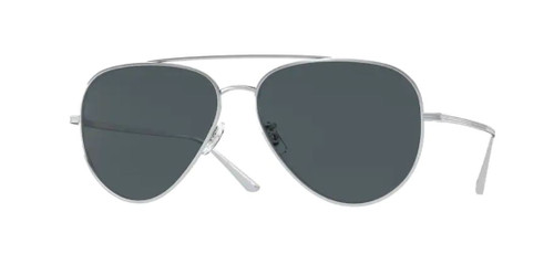 Authentic Oliver Peoples 0OV 1277ST CASSE 5036R5 Silver/Blue Unisex Sunglasses