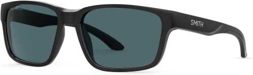 Authentic Smith Basecamp 0807/M9 Black/Gray Polarized Rectangle Men's Sunglasses