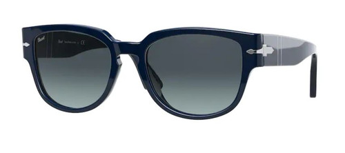 Authentic Persol 0PO 3231S 1109Q8 Blue/Blue Gradient Square Men's Sunglasses