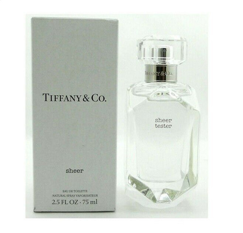 Authentic SHEER Perfume TIFFANY & CO. For Women 2.5 Oz EDT SP Tester In Box