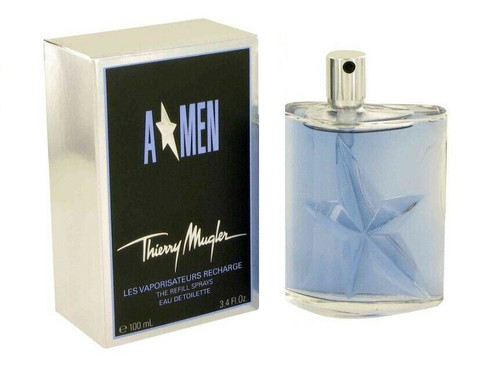 Angel Cologne by Thierry Mugler for Men EDT 3.4 oz Refillable New In Box