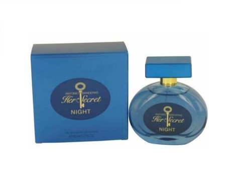 AB HER SECRET NIGHT By ANTONIO BANDERAS 2.7 Oz EDT SP For WomenNew In Box